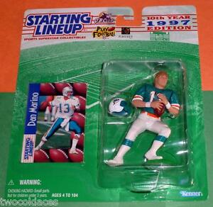 1997 DAN MARINO Miami Dolphins NM * FREE s/h * HOF Starting Lineup