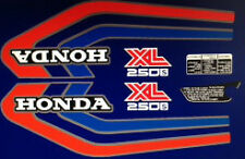 HONDA XL250S RESTORATION DECAL SET PURPLE