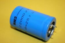 22000UF 25V BCC RADIAL QUALITY SMOOTHING CAPACITOR    fba41