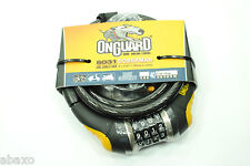 OnGuard Doberman 12mm Combination Coil Cable Lock