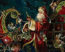 Dean Morrissey PREPARING FOR THE JOURNEY Santa Claus