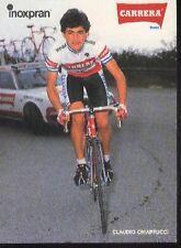 CLAUDIO CHIAPPUCCI Cyclisme CP ciclismo Team CARRERA 85