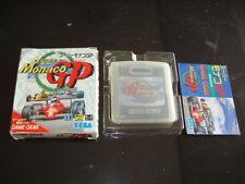 Super Monaco GP Sega Game Gear Japan