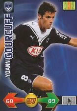 YOANN GOURCUFF # FRANCE GIRONDINS BORDEAUX CARD CARTE PANINI ADRENALYN FOOT 2010