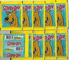 2005 PANINI Scooby Doo 10 Sealed Packets Hanna Barbera
