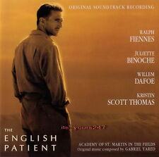 Der Englische Patient /The English Patient - OST [1996] | Gabriel Yared | CD