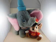 "Vintage Dumbo  Plush 11"" + 4"" Hat ( Korea) Plus Timothy Mouse  Disney"