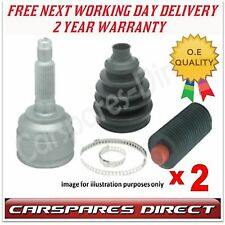 2 x DAEWOO MATIZ 0.8 / 1.0 1998 - 2005  OUTER CV JOINT & CV BOOT KIT *BRAND NEW*