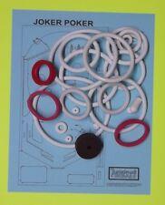 1978 Gottlieb Joker Poker pinball rubber ring kit