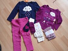 NWT GIRLS GYMBOREE SZ 18-24 MONTHS SHIRT, LEGGINGS, PANTS, SOKS BUNDLED & BRIGHT