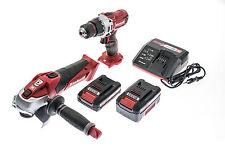 Power X-Change 18V Akku Bohrschrauber Winkelschleifer Werkzeug Set Akkuschrauber
