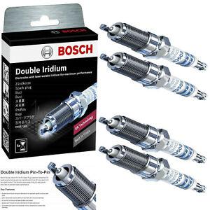 For 2010-2014 HONDA CR-V L4-2.4L 4Pcs OE Double Iridium Spark Plug 9619
