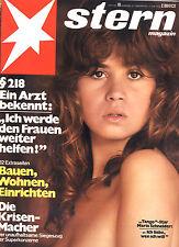 Zeitschrift STERN  Nr. 10 von 1975, Cover Maria Schneider; Toller Cranston uvm.