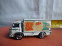 Vintage CORGI JUNIORS DIECAST LEYLAND TERRIER TRUCK Lorry Toy White Pepsi decals
