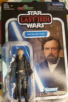 Star Wars 293633 The Last Jedi Luke Skywalker Figure Kenner Disney Hasbro NIB
