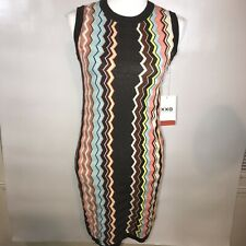 Missoni for Target Brown Chevron Stripe Dress Women's XL 20 year anniversary NEW