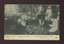WW1 GAMBLING Senegal and Algerian soldiers playing Loto unused 1914 PPC