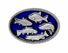 5 Fisch-Gürtelschnalle