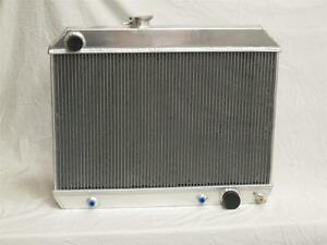 1965 1966 Pontiac GTO Lemans Tempest Aluminum Radiator 3 Core Lightweight 66