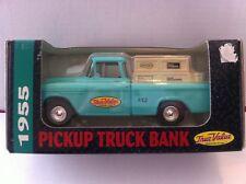 1955 CHREVROLET PICKUP TRUCK BANK FOR TRUE VALUE MADE BY ERTL