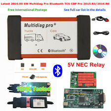 High quality w/ Bluetooth TCS CDP Pro Car Truck Multidiag pro+ 2015.R3 2016.R0 F