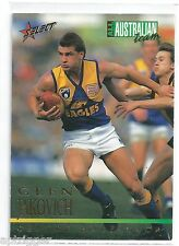 1995 Select All Australian (AA11) Glen JAKOVICH West Coast +++