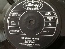 JULIE ROGERS . THE WEDDING  ( LA NOVIA ) / THE LOVE OF A BOY  . 1964