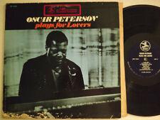 OSCAR PETERSON LP PLAYS FOR LOVERS 1969 PRESTIGE PRST 7649 1ST US PRESS