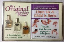 Baby's First Christmas Gold, Frankincense And Myrrh & Keepsake Book