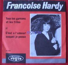 Disques vinyles singles 33 tours pour chanson française