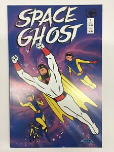 Space Ghost #1 (1987) Steve Rude SIGNED *READ* VF/NM Comico Comics