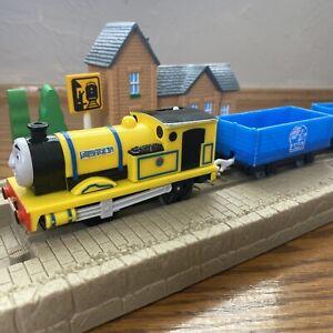 Thomas Friends Trackmaster Yellow Rheneas 2 BMQ Cargo X0765 Motorized Train 2009