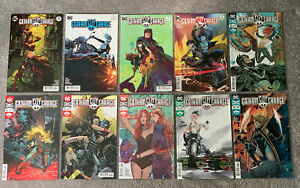 Gotham City Garage 1 2 3 4 5 6 7 8 9 10 DC Comic Lot Run (Wonder Woman Cover #1)