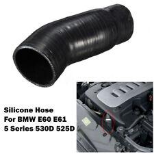 Silicone Intercooler EGR Turbo Boost Hose Pipe Black For BMW E60 E61 530d 525d