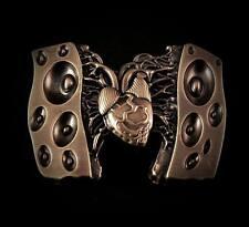 EMEK Hatpin, 3D Heart w/ speaker pin