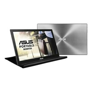 "NEW ASUS MB168B Portable USB Monitor 15.6"" HD USB-powered Ultra-slim Smart Case"