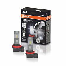 OSRAM 6000K Cool White H8 H11 H16 LED Foglight Bulbs Fog Lamps Retrofit 67219CW