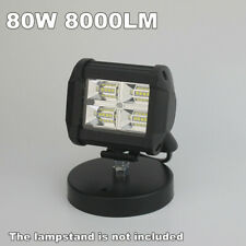 "3.75"" Led Light Bar Flood light Work Lights 80W 8000 Lumens Super Bright Offroad"