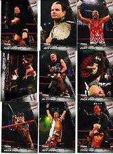 2010 Tristar TNA Xtreme 100 Card Set Hulk Hogan Ric Flair Jeff Hardy Mick Foley