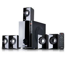 beFree Sound 5.1 Channel Surround Sound Home Theater Speaker System w/Bluetooth