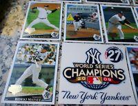 NEW YORK YANKEES 2009 Topps World Series Champions SET Jeter Matsui MVP $$