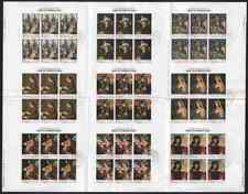Yemen Royalist 1968 UNESCO Art COMPOSITE PROOF SHEET