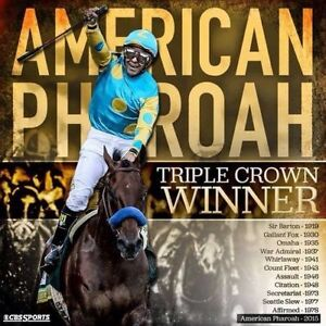 2015 HASKELL PROGRAM + $2 WIN TICKET AMERICAN PHAROAH MINT