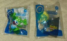 2006 McDonalds - Nintendo Mario Swing and Hit & Yoshi Tag and Run Toy #1 & 2
