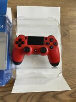 Sony Playstation Dualshock 4 Wireless Controller Magma Red New Boxed V1