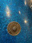 Rare Vintage 60's Gretsch Round Badge Blue Sparkle 16 X 16 Floor Tom Drum Parts