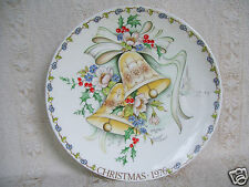 Rare Crown Staffordshire Plaque Church Bells 7.5
