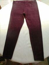 Top Cord Leggings L XL 44 46 48 50 Jersey Baumwoll-Mi.ROT SuperStretch Jeggings!