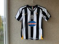 Juventus Home football shirt 2005/2006 Jersey Size Young M Nike Soccer Italy