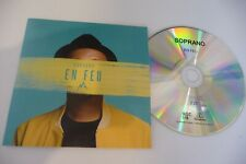 SOPRANO EN FEU CD SINGLE PROMO . CARDSLEEVE .